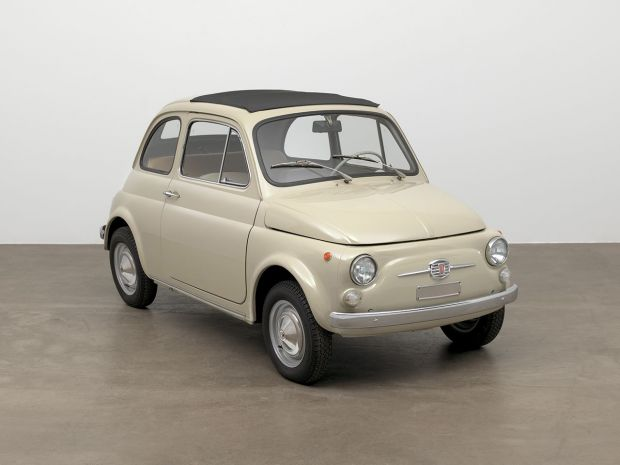"""""""Fiat 500 entra al MoMA"""" is a winner at the 2017 Corporate Art Awards"""