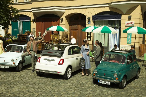 Triumph of the European Tour of Fiat 500 at the NC Awards