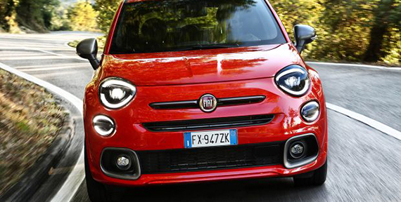 """The new Fiat 500X Sport, the """"spearhead"""" of the of Italian crossover's renewed range"""