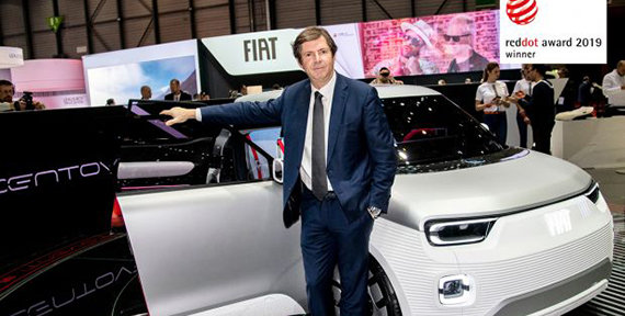 """Fiat Concept Centoventi wins the """"Red Dot Award 2019"""""""