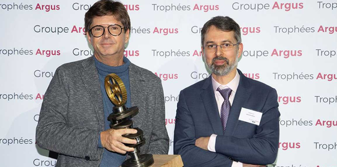 """Fiat Concept Centoventi awarded the Special Jury Prize at the """"Trophées Argus 2020"""""""