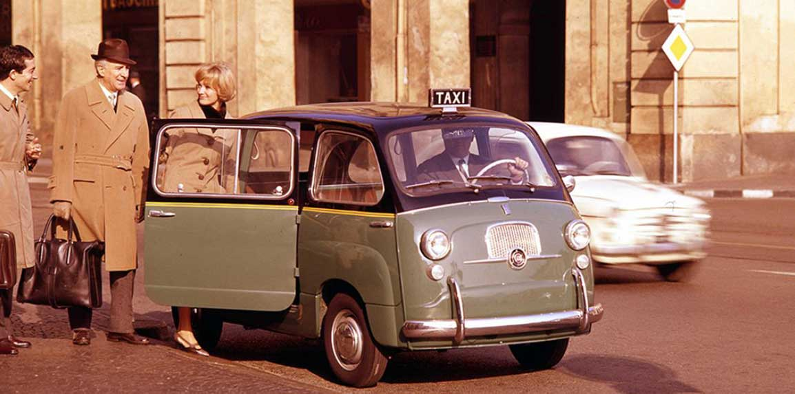 The legendary Fiat 600 Multipla conquers London