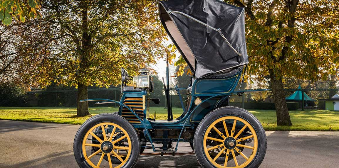 """The Fiat 3½ hp produced in 1899 will take part in the """"London to Brighton Veteran Car Run"""""""