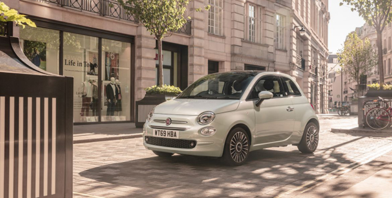 DRIVE A FIAT 500 HYBRID FOR LESS THAN THE COST OF THE DAILY LONDON COMMUTE
