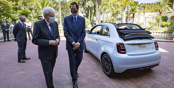 ITALIAN GOVERNMENT WELCOMES NEW FIAT 500 AS IT MAKES ITS DEBUT IN ROME