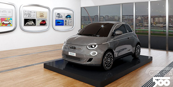FIAT 500 CELEBRATES ITS BIRTHDAY IN STYLE AS PRODUCTION OF NEW 500 STARTS IN TURIN