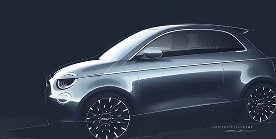FIAT CHRYSLER AUTOMOBILE CENTRO STILE SKETCHES SOLD IN SUPPORT OF SAVE THE CHILDREN